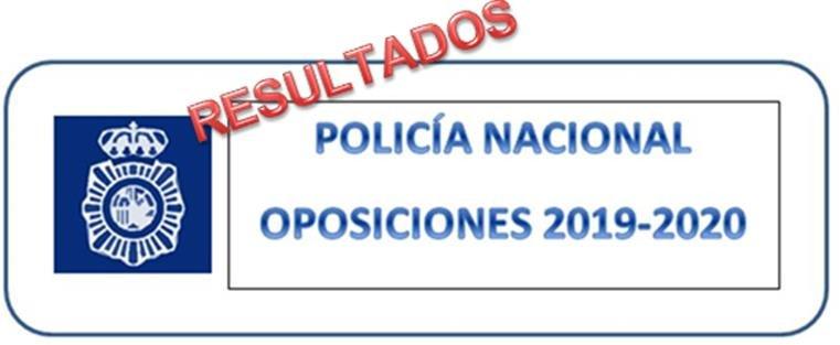 Lista de aprobados en la oposición de Policía Nacional, escala básica 2020