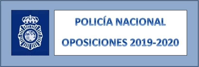 Reanudación de las oposiciones de Policía Nacional (escala básica)